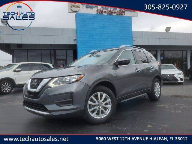 2018 Nissan Rogue for sale at Tech Auto Sales in Hialeah FL