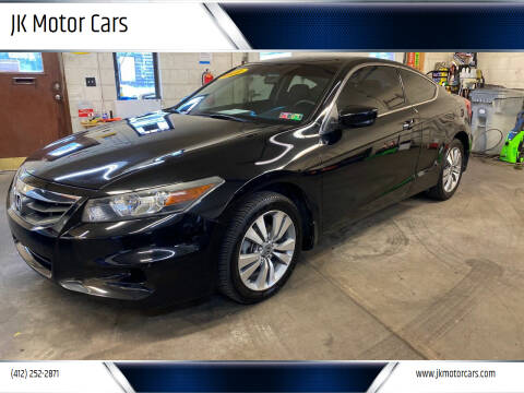 2012 Honda Accord for sale at JK Motor Cars in Pittsburgh PA