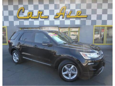2018 Ford Explorer for sale at Car Ave in Fresno CA