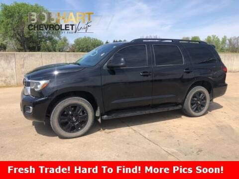 2020 Toyota Sequoia for sale at BOB HART CHEVROLET in Vinita OK
