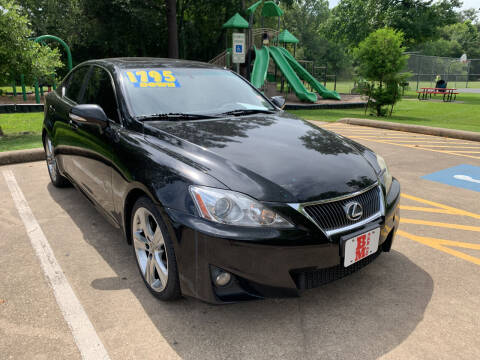 2013 Lexus IS 250 for sale at B & M Car Co in Conroe TX