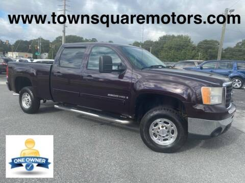 2008 GMC Sierra 2500HD for sale at Town Square Motors in Lawrenceville GA