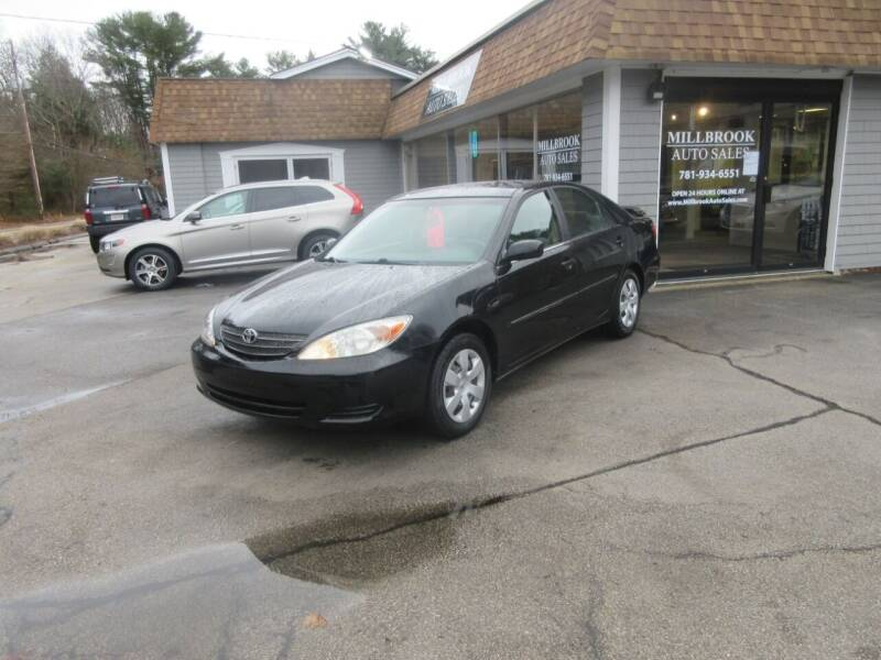 2003 Toyota Camry for sale at Millbrook Auto Sales in Duxbury MA