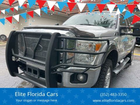 2012 Ford F-250 Super Duty for sale at Elite Florida Cars in Tavares FL