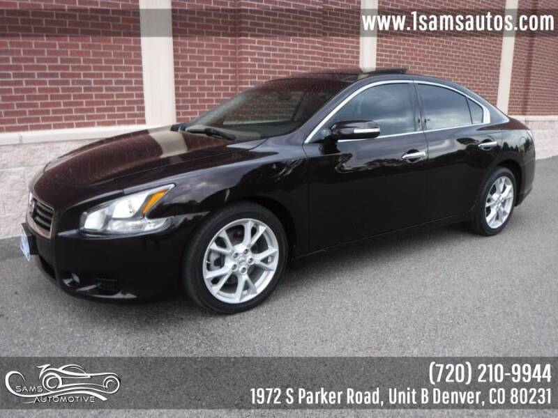 2014 Nissan Maxima for sale at SAM'S AUTOMOTIVE in Denver CO
