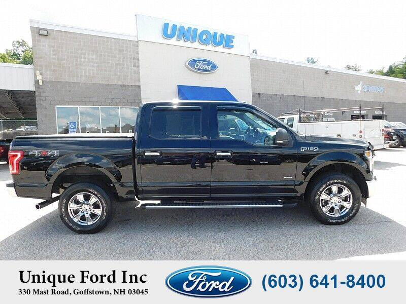 2017 Ford F-150 for sale at Unique Motors of Chicopee - Unique Ford in Goffstown NH