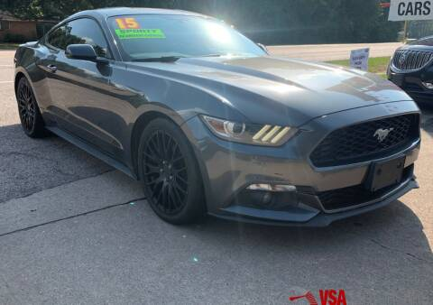 2015 Ford Mustang for sale at VSA MotorCars in Cypress TX