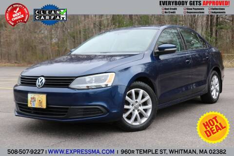 2012 Volkswagen Jetta for sale at Auto Sales Express in Whitman MA