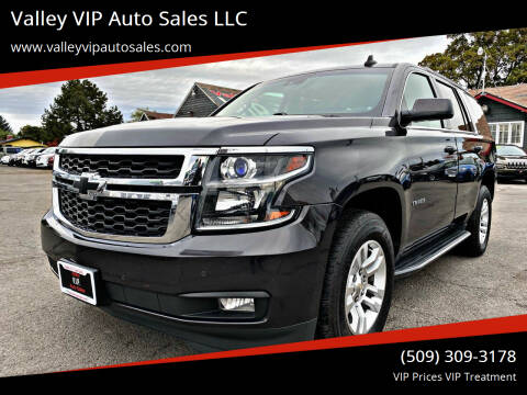 2016 Chevrolet Tahoe for sale at Valley VIP Auto Sales LLC in Spokane Valley WA