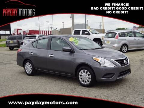 2019 Nissan Versa for sale at Payday Motors in Wichita KS