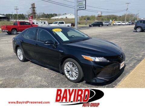 2018 Toyota Camry Hybrid for sale at Bayird Truck Center in Paragould AR