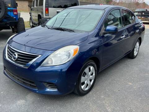 2014 Nissan Versa for sale at Luxury Auto Innovations in Flowery Branch GA
