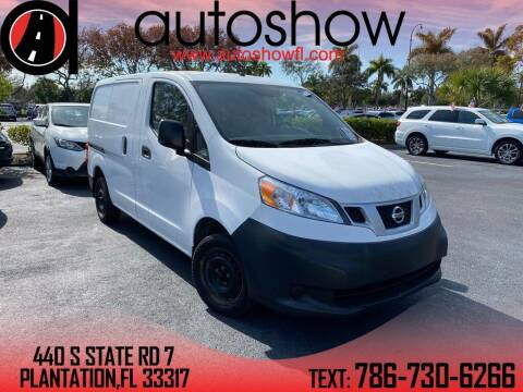 2017 Nissan NV200 for sale at AUTOSHOW SALES & SERVICE in Plantation FL