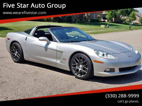 2005 Chevrolet Corvette for sale at Five Star Auto Group in North Canton OH