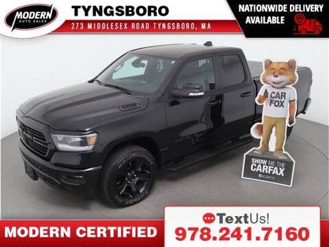 2021 RAM Ram Pickup 1500 for sale at Modern Auto Sales in Tyngsboro MA