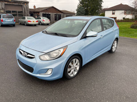 2013 Hyundai Accent for sale at Paul Hiltbrand Auto Sales LTD in Cicero NY
