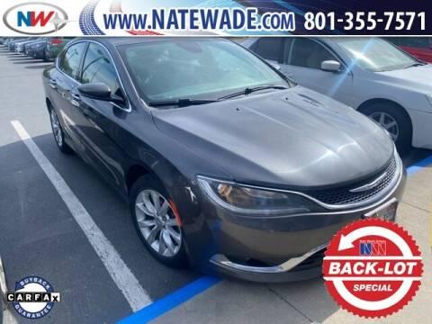 2015 Chrysler 200 for sale at NATE WADE SUBARU in Salt Lake City UT