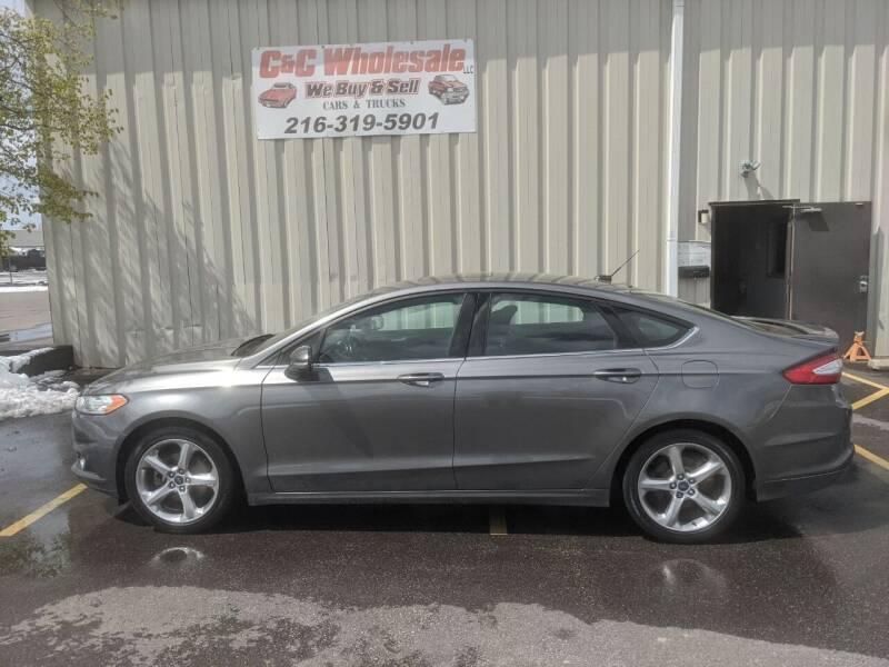 2014 Ford Fusion for sale at C & C Wholesale in Cleveland OH