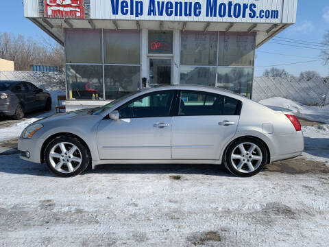 2006 Nissan Maxima for sale at Velp Avenue Motors LLC in Green Bay WI