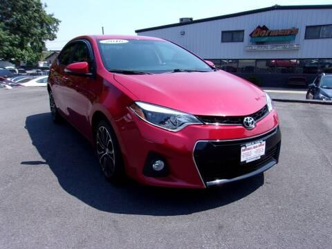 2016 Toyota Corolla for sale at Dorman's Auto Center inc. in Pawtucket RI