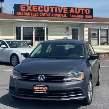 2015 Volkswagen Jetta for sale at Executive Auto in Winchester VA