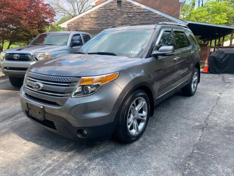 2013 Ford Explorer for sale at MG Auto Sales in Pittsburgh PA