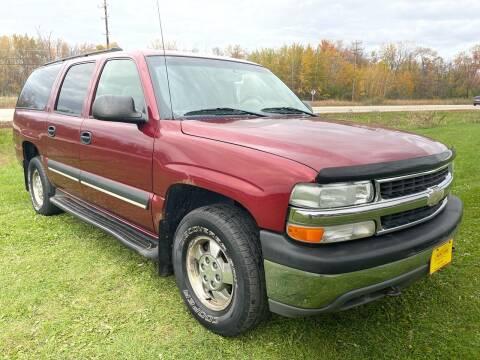 2003 Chevrolet Suburban for sale at Sunshine Auto Sales in Menasha WI