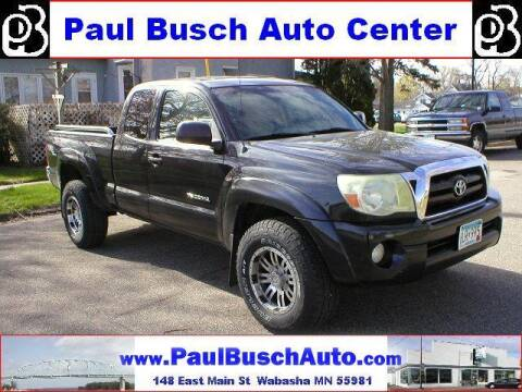 2006 Toyota Tacoma for sale at Paul Busch Auto Center Inc in Wabasha MN