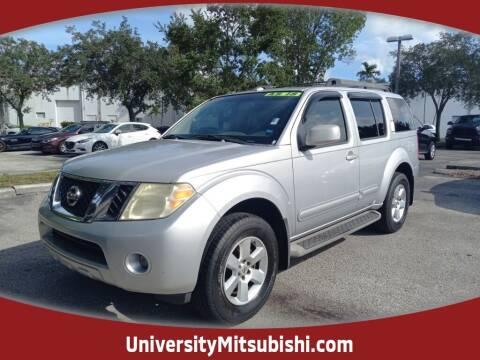 2008 Nissan Pathfinder for sale at FLORIDA DIESEL CENTER in Davie FL