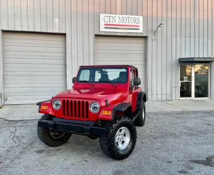 2006 Jeep Wrangler for sale at CTN MOTORS in Houston TX
