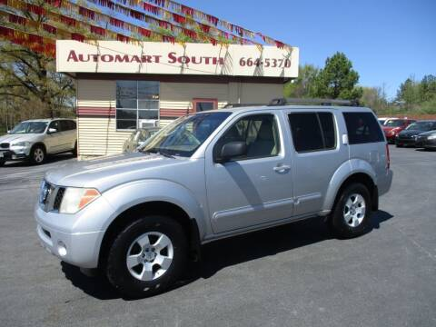 2006 Nissan Pathfinder for sale at Automart South in Alabaster AL