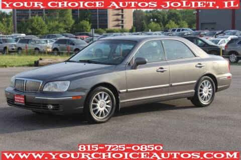 2004 Hyundai XG350 for sale at Your Choice Autos - Joliet in Joliet IL