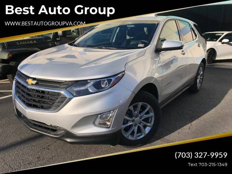 2019 Chevrolet Equinox for sale at Best Auto Group in Chantilly VA