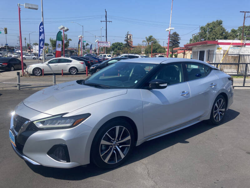 2020 Nissan Maxima for sale at Pacific West Imports in Los Angeles CA