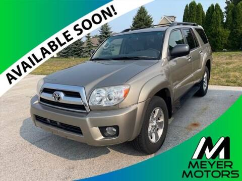 2006 Toyota 4Runner for sale at Meyer Motors in Plymouth WI