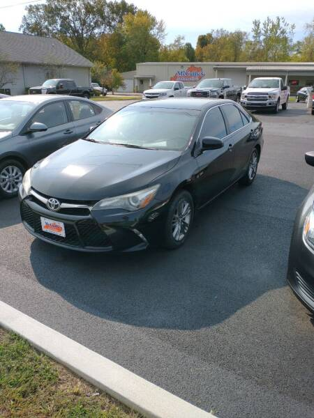 2015 Toyota Camry for sale at McCully's Automotive in Benton KY