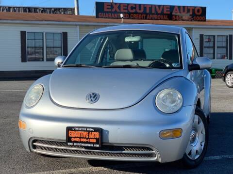 2003 Volkswagen New Beetle for sale at Executive Auto in Winchester VA