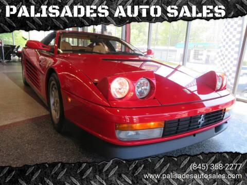1990 Ferrari Testarossa for sale at PALISADES AUTO SALES in Nyack NY