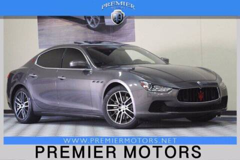 2017 Maserati Ghibli for sale at Premier Motors in Hayward CA