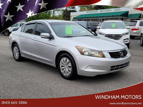 2009 Honda Accord for sale at Windham Motors in Florence SC