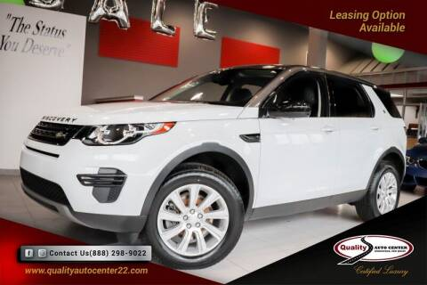 2018 Land Rover Discovery Sport for sale at Quality Auto Center of Springfield in Springfield NJ