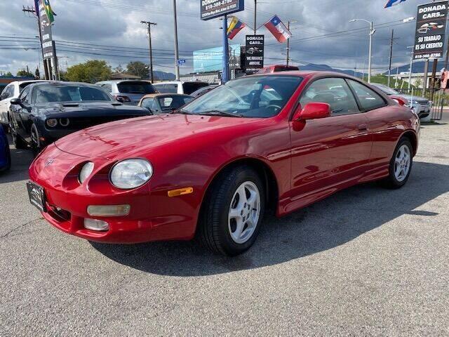 1997 Toyota Celica for sale at Donada  Group Inc in Arleta CA