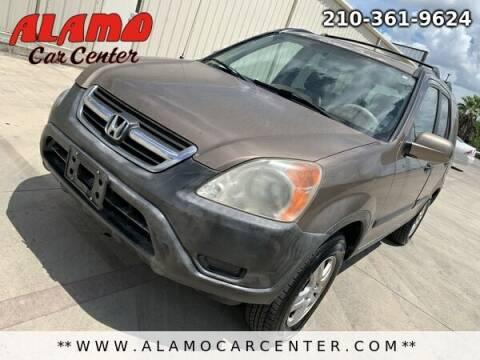 2002 Honda CR-V for sale at Alamo Car Center in San Antonio TX
