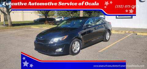 2014 Kia Optima for sale at Executive Automotive Service of Ocala in Ocala FL
