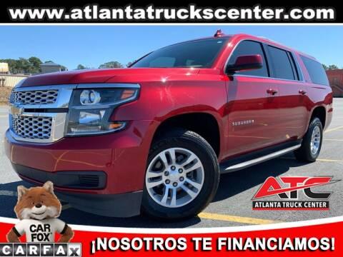 2015 Chevrolet Suburban for sale at ATLANTA TRUCK CENTER LLC in Brookhaven GA