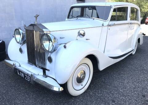 1948 Rolls-Royce SILVER WRATH for sale at Black Tie Classics in Stratford NJ