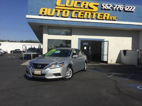 2018 Nissan Altima for sale at Lucas Auto Center in South Gate CA