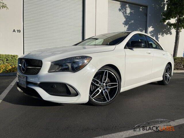 2018 Mercedes-Benz CLA for sale at BLACK LABEL AUTO FIRM in Riverside CA