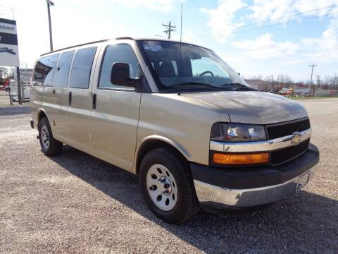2011 Chevrolet Express Passenger for sale at Burkholder Truck Sales LLC (Versailles) in Versailles MO