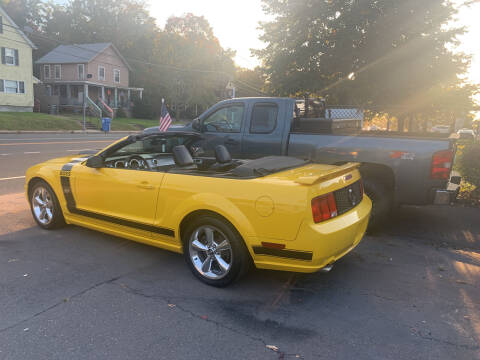 2006 Ford Mustang for sale at CAR CORNER RETAIL SALES in Manchester CT